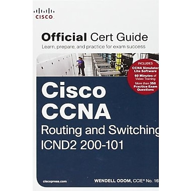 CCNA Routing and Switching ICND2 200-101 Official Cert Guide Used Book (9781587143731)