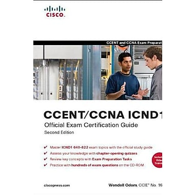 CCENT/CCNA ICND1 Official Exam Certification Guide, 2nd Edition Used Book (9781587201820)