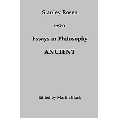 Essays in Philosophy: Ancient, Used Book (9781587312267)