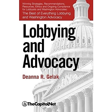 Lobbying & Advocacy, New Book