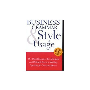 Business Grammar, Style & Usage, Used Book