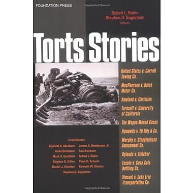 Rabin and Sugarman's Torts Stories, Used Book (9781587785030)