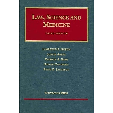 Gostin, Areen King Goldberg and Jacobson's Law Science and Medicine 3, Used Book, (9781587785177)