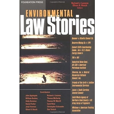 Lazarus' Environmental Law Stories, Used Book (9781587787287)