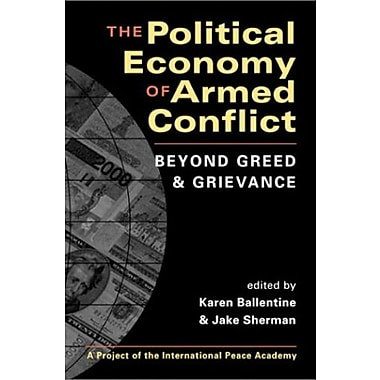 The Political Economy of Armed Conflict: Beyond Greed and Grievance, Used Book, (9781588261724)