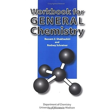 Workbook For General Chemistry, Used Book (9781588744319)