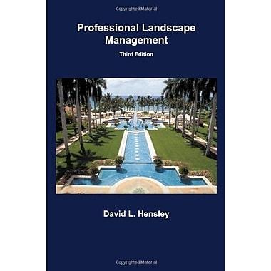 Professional Landscape Management, Used Book (9781588749505)