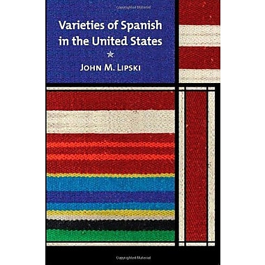 Varieties of Spanish in the United States, Used Book (9781589012134)