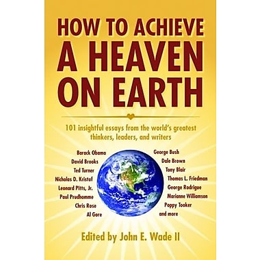 How to Achieve a Heaven on Earth, Used Book (9781589805972)