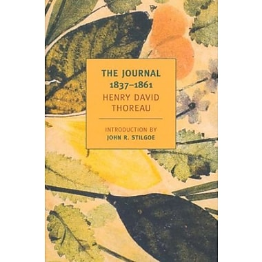 The Journal of Henry David Thoreau, 1837-1861 (New York Review Books Classics), Used Book (9781590173213)