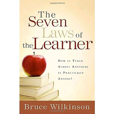 The Seven Laws of the Learner: How to Teach Almost Anything to Practically Anyone, Used Book (9781590524527)