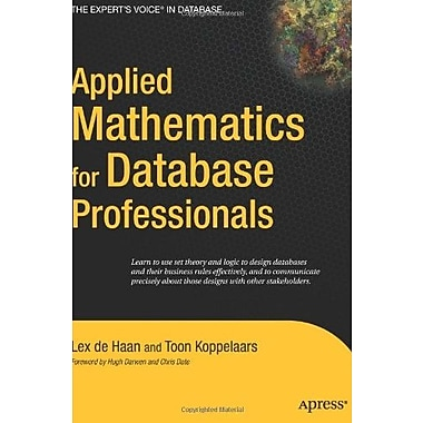 Applied Mathematics for Database Professionals, Used Book (9781590597453)
