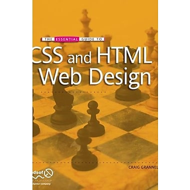 The Essential Guide to CSS and HTML Web Design Used Book (9781590599075)
