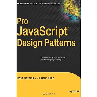 Pro JavaScript Design Patterns: The Essentials of Object-Oriented JavaScript Programming Used Book (9781590599082)