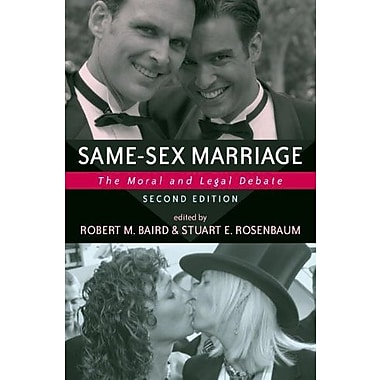 Same-sex Marriage: The Moral And Legal Debate, Used Book (9781591022749)