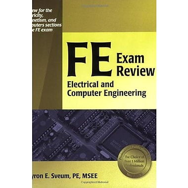 FE Exam Review: Electrical and Computer Engineering, Used Book (9781591260691)