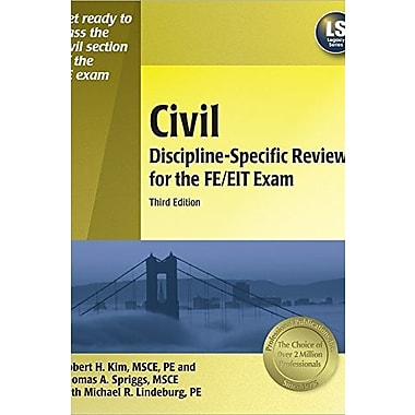 Civil Discipline-Specific Review for the FE/EIT Exam, Used Book (9781591261773)