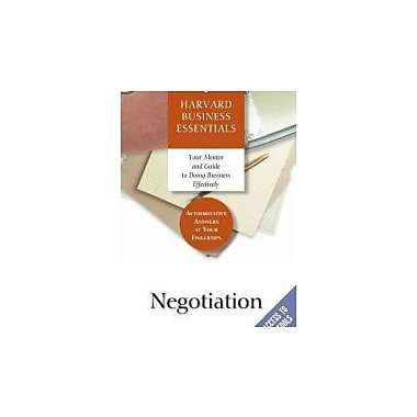 Negotiation, Used Book (9781591391111)