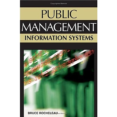 Public Management Information Systems, Used Book (9781591408079)