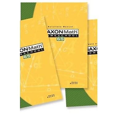 Saxon Math 6/5: Homeschool Set/Box, Used Book (9781591413325)