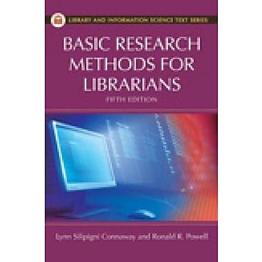 Basic Research Methods for Librarians, Used Book (9781591588634)