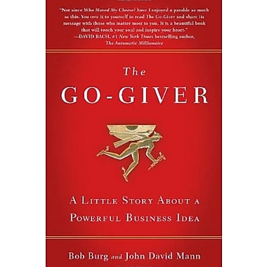 The Go-Giver: A Little Story About a Powerful Business Idea Used Book (9781591842002)