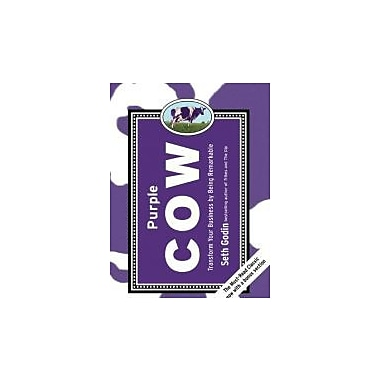 Purple Cow, New Edition: Transform Your Business by Being Remarkable--Includes new bonus chapter Used Book (9781591843177)