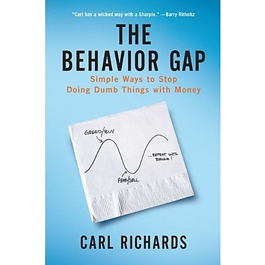 The Behavior Gap: Simple Ways to Stop Doing Dumb Things with Money, Used Book (9781591844648)