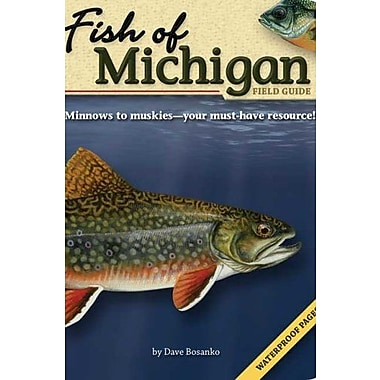 Fish of Michigan Field Guide Used Book (9781591931935)