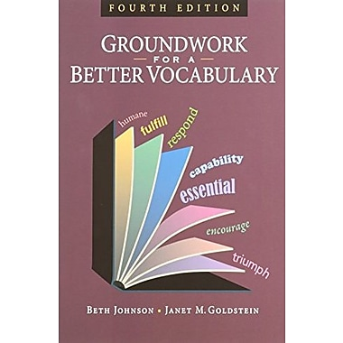 Groundwork for a Better Vocabulary, Used Book (9781591942238)