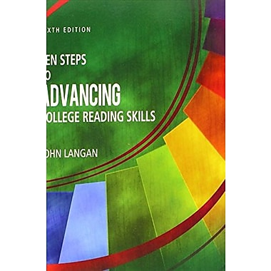 Ten Steps to Advancing College Reading Skills, Used Book (9781591944348)