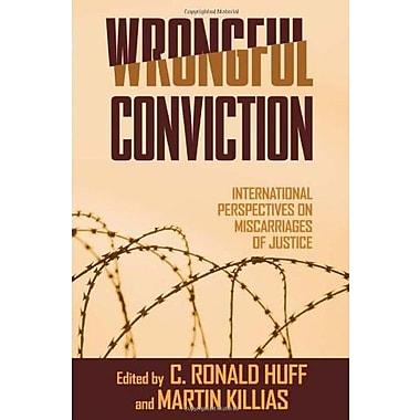 Wrongful Conviction: International Perspectives on Miscarriages of Justice, Used Book (9781592136469)