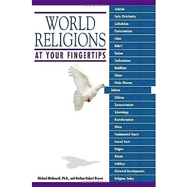 World Religions at Your Fingertips, Used Book (9781592578467)