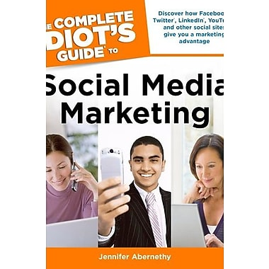 The Complete Idiot's Guide to Social Media Marketing, Used Book (9781592579891)