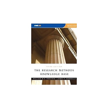 The Research Methods Knowledge Base Used Book (9781592602919)