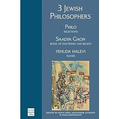 3 Jewish Philosophers, Used Book (9781592641475)