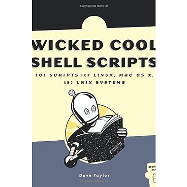 Wicked Cool Shell Scripts Used Book (9781593270124)