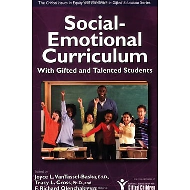 Social-Emotional Curriculum with Gifted and Talented Students Used Book (9781593633493)