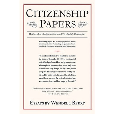 Citizenship Papers, Used Book (9781593760373)