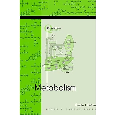 Quick Look: Metabolism, Used Book (9781593771928)