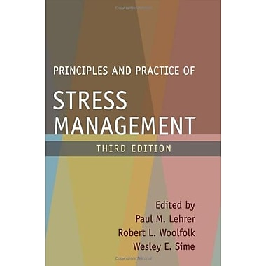 Principles and Practice of Stress Management, Third Edition, Used Book (9781593850005)