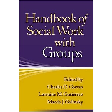 Handbook of Social Work with Groups, Used Book (9781593850043)
