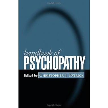 Handbook of Psychopathy, Used Book (9781593852122)