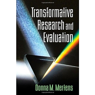 Transformative Research and Evaluation Used Book (9781593853020)