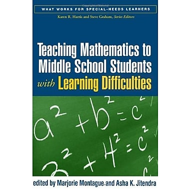 Teaching Mathematics to Middle School Students with Learning Difficulties, Used Book, (9781593853068)