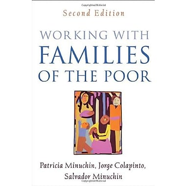 Working with Families of the Poor, Second Edition (Guilford Family Therapy), Used Book (9781593853471)