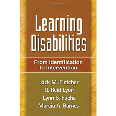 Learning Disabilities: From Identification to Intervention, Used Book (9781593853709)