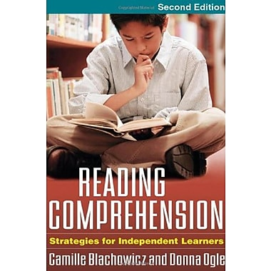 Reading Comprehension, Second Edition: Strategies for Independent Learners, Used Book (9781593857554)