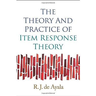 The Theory and Practice of Item Response Theory Used Book (9781593858698)