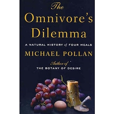 The Omnivore's Dilemma: A Natural History of Four Meals Used Book (9781594132056)